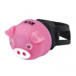 Tagatuli KLS Piggy roosa