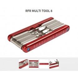Võti RFR Multi Tool 8 punane